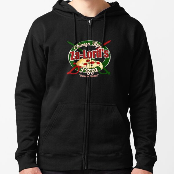 Pizza or Death! Zipped Hoodie