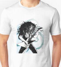 claudio sanchez coheed & cambria black and white artwrok Unisex T-Shirt