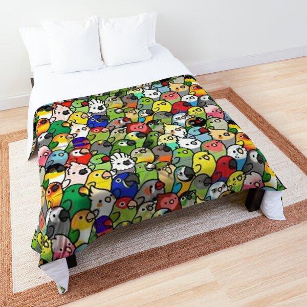 Everybirdy Pattern Comforter