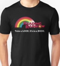 Reading Rainbow - Take A Look It's In A Book T-Shirt