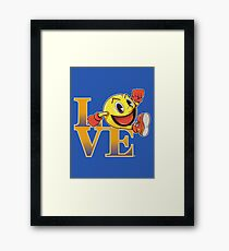 ARCADE LOVE Framed Print