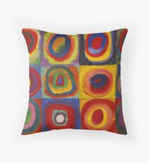 Kandinsky pattern Throw Pillow