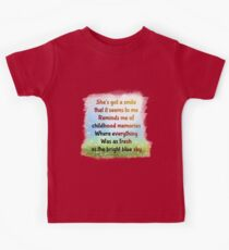 Sweet Child o Mine Kids Tee