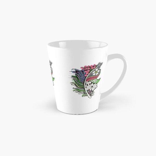 Blooming Feather Tall Mug