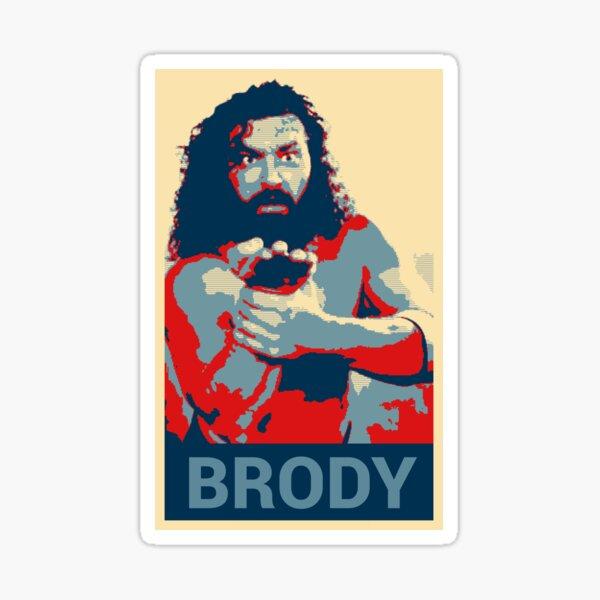 bruiser brody Sticker
