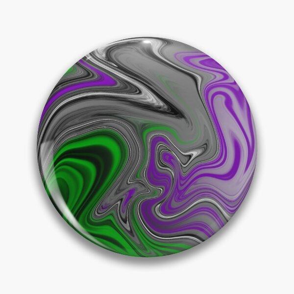 AroAce Abstract Pride Flag Pin