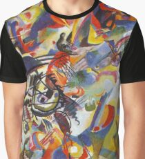 Colourful Detailed Kandinsky painting Graphic T-Shirt