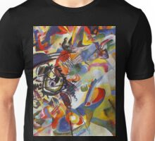 Colourful Detailed Kandinsky painting Unisex T-Shirt