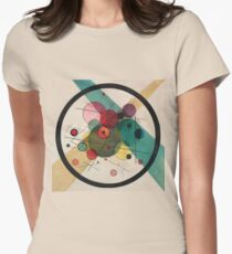 Kandinsky Abstract Painting Women's Fitted T-Shirt
