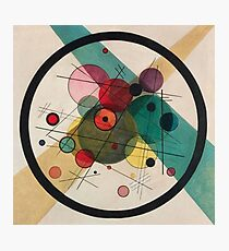 Kandinsky Abstract Painting Photographic Print