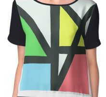 New Order Music Complete Chiffon Top