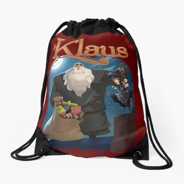 Klaus (Klaus and Jesper) Drawstring Bag