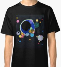 Abstract Kandinsky Painting black and blue Classic T-Shirt