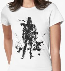 Big Boss MGS3 Womens Fitted T-Shirt