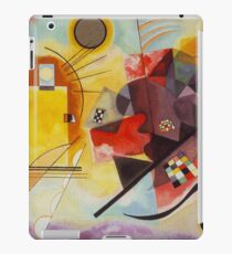 Yellow and Blue Kandinsky painting iPad Case/Skin