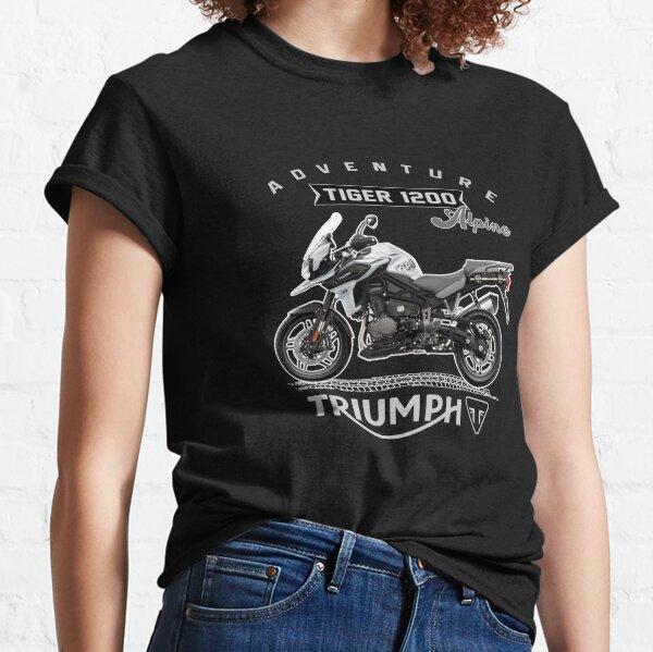 Designer Motorcycle Triumph Tiger 1200 Alpine Edition Classic T-Shirt