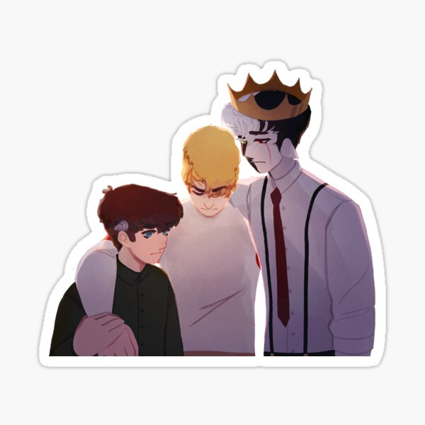 Autocollant de trio de banc Sticker