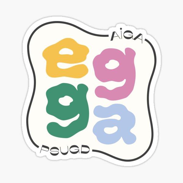 Egga Logo Sticker