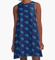 Cacti abstract A-Line Dress