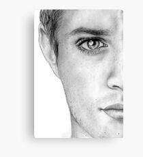 Jensen Ackles Canvas Print