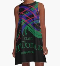 Clan McDonald A-Line Dress