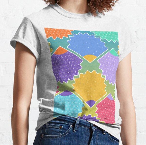 Colorful Shells Pattern Classic T-Shirt