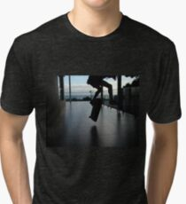 Skating under the sun Tri-blend T-Shirt