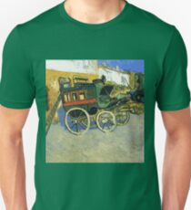 Van Gogh painting of carriages Unisex T-Shirt