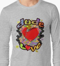 Dude Love Wrestling Long Sleeve T-Shirt