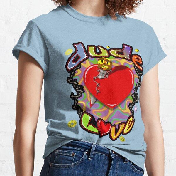 Dude Love Wrestling Camiseta clásica