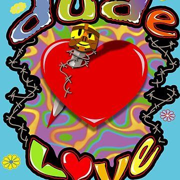 Dude Love Wrestling by Waygood83