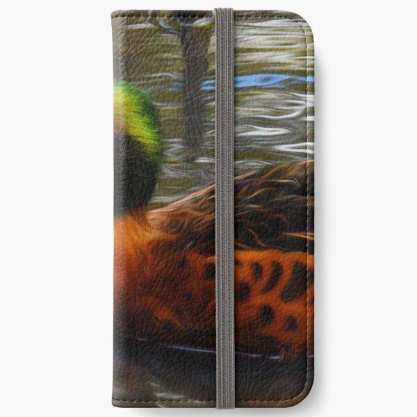 Chestnut Teal iPhone Wallet