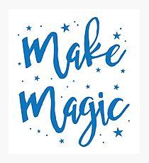 make magic Photographic Print