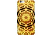 Yellow-Black Kaleidoscope auf Redbubble von pASob-dESIGN