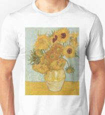 Sunflowers by Vincent Van Gogh Unisex T-Shirt