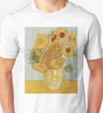 Sunflowers by Vincent Van Gogh Unisex T-Shirt