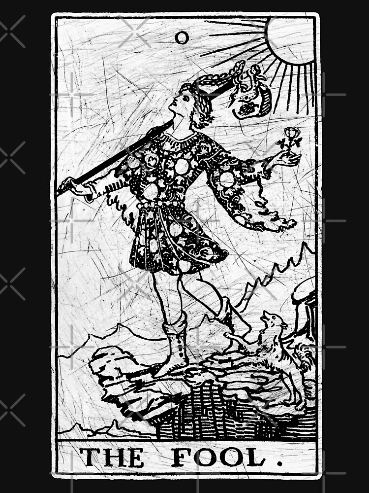 The Fool Tarot Card - Major Arcana - fortune telling - occult | Unisex T-Shirt