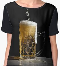Beer Women's Chiffon Top