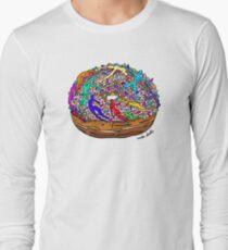 Human Donut Sprinkles 2 Pattern T-Shirt