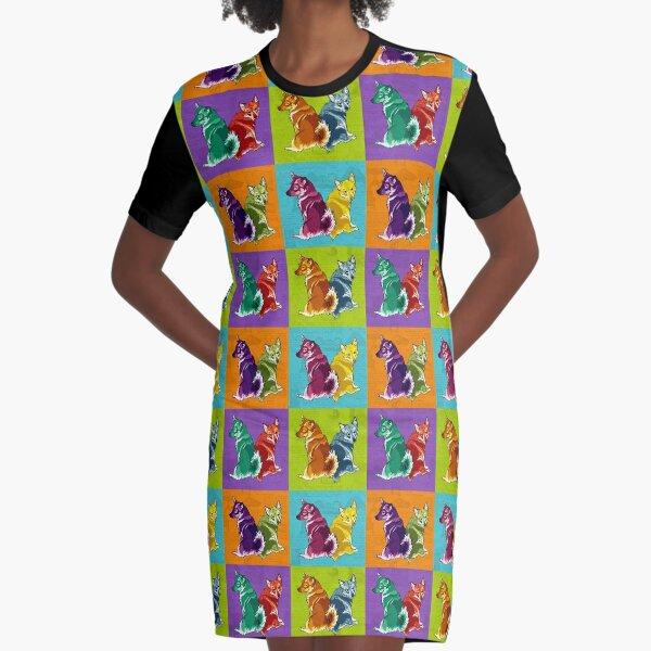 Technicolour Valluhnds Graphic T-Shirt Dress
