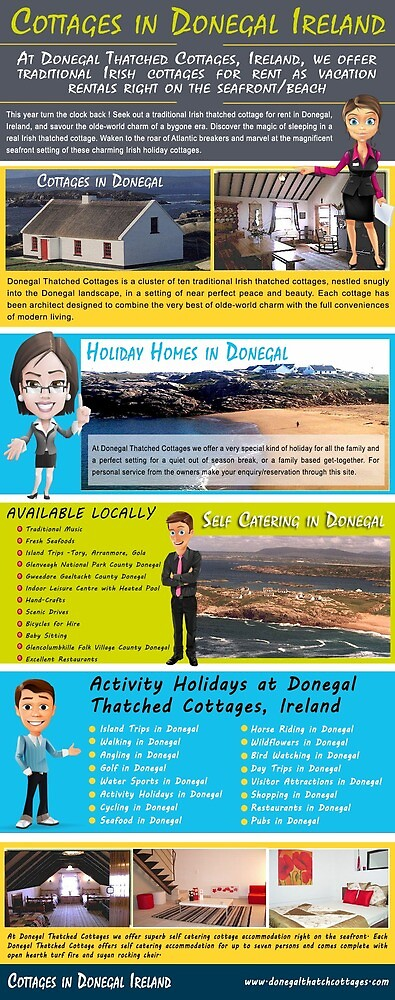 Cottages in Donegal Ireland by selfcateringind