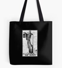 The Hermit Tarot Card - Major Arcana - fortune telling - occult Tote Bag