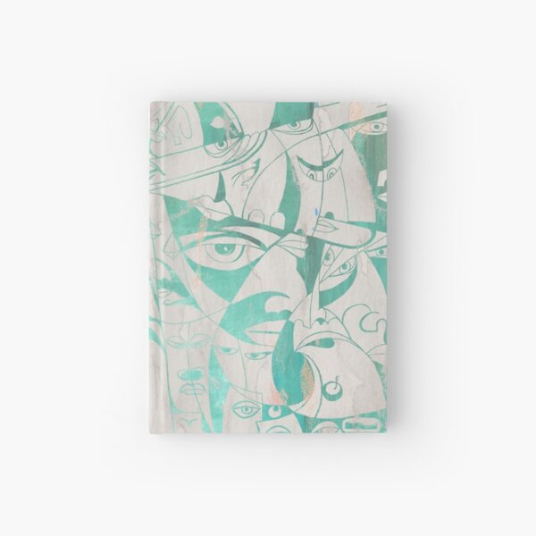 Egypt in Symbols - Rustic Green Hardcover Journal