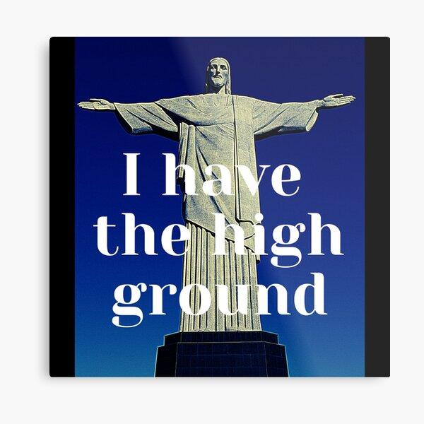 Christ the redeemer fun take Metal Print
