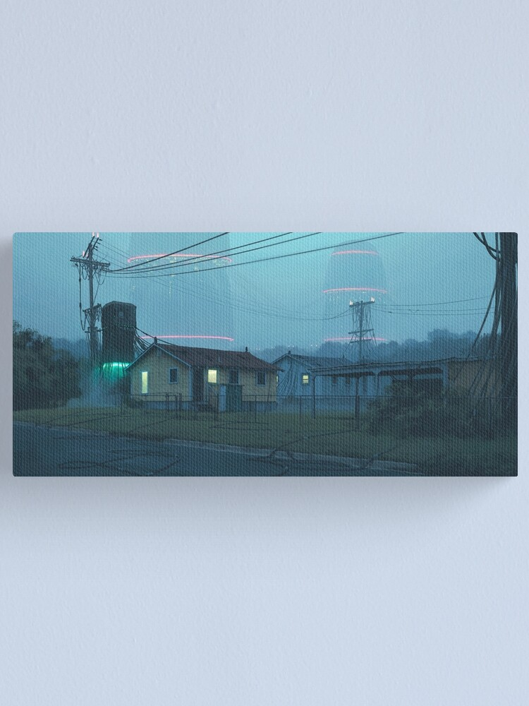 Alternate view of Local Servers Canvas Print