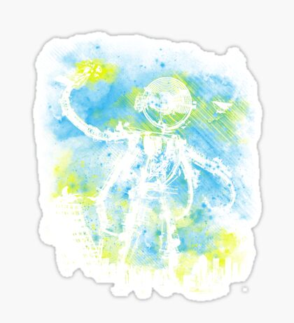 Mad Robot 2 Sticker
