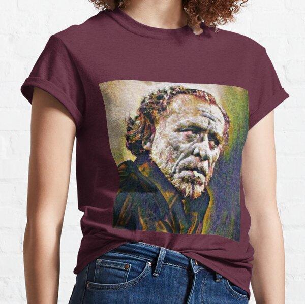 Portrait of Charles Bukowski Classic T-Shirt