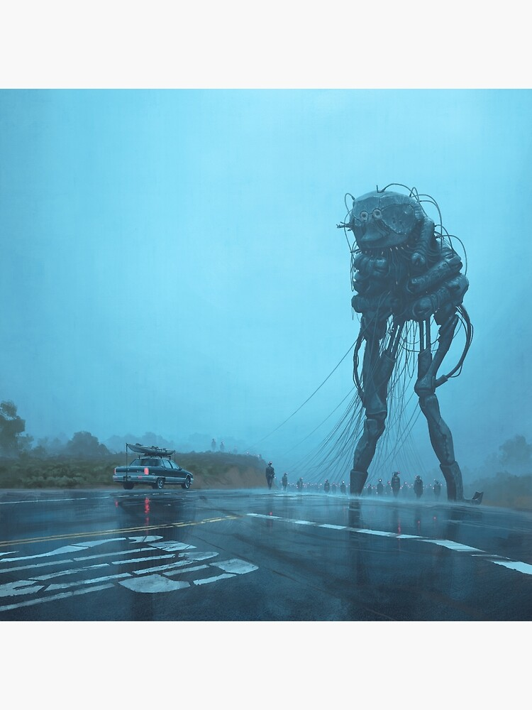 The Procession by simonstalenhag