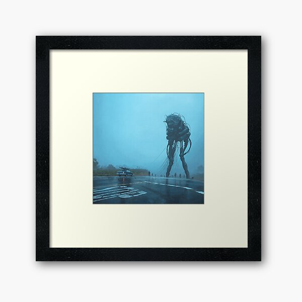 The Procession Framed Art Print
