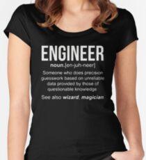 Engineer Shirt Women's Fitted Scoop T-Shirt